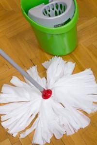 Keep Shiny Laminate Floors Clean