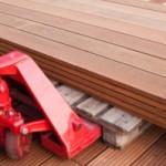 How do sheets of hardwood flooring look?