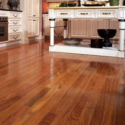 Brazilian Cherry Prefinished Hardwood Flooring