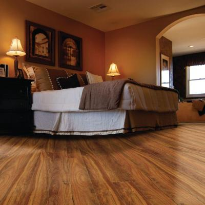 Natural Mahogany Laminate Flooring