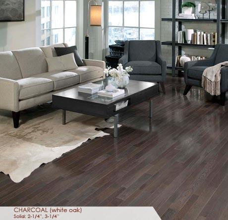 Charcoal White Oak Flooring