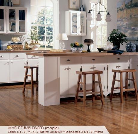 Maple Tumbleweed Flooring