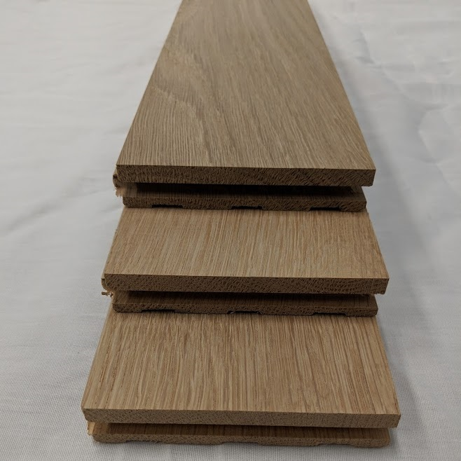 "2 1/4"" Select & Better Unfinished Solid White Oak Flooring"