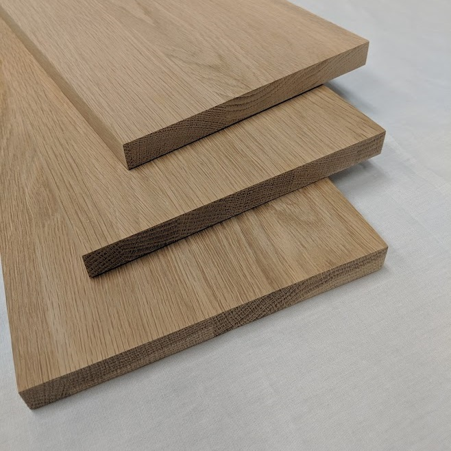 White Oak Stair Risers