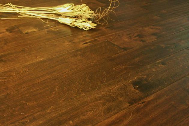 5 Antique Brown Chesapeake Hardwood Floor Hand Scraped Countryside