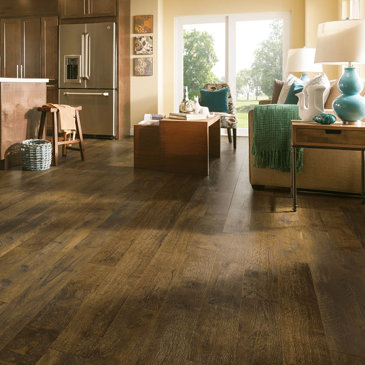Armstrong Rustics Premium Brown Washed L6622 Laminate Flooring