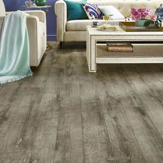 Armstrong Rustics Premium Etched Gray L6644 Laminate Flooring