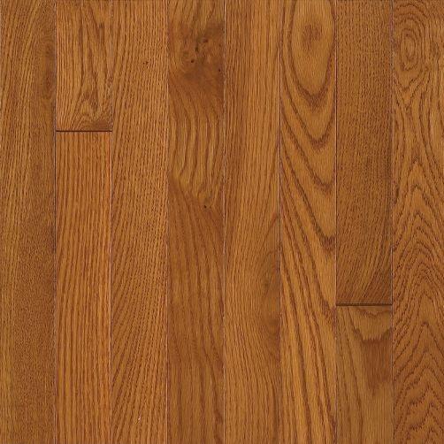 2 1 4 brass white oak bruce hardwood flooring waltham for Bruce hardwood flooring