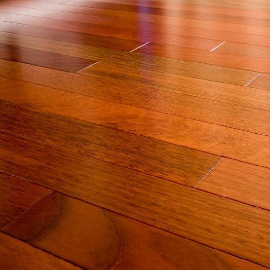 Brazilian Cherry Hardwood Prefinished Flooring Exotic