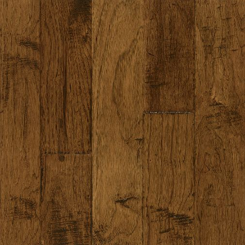 3 8 x 5 brushed sahara sand hand scraped hickory for Bruce hardwood floors 3 8