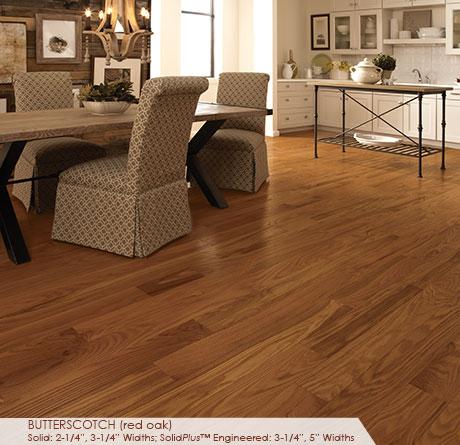 5 Red Oak Butterscotch Flooring Somerset Classic Engineered