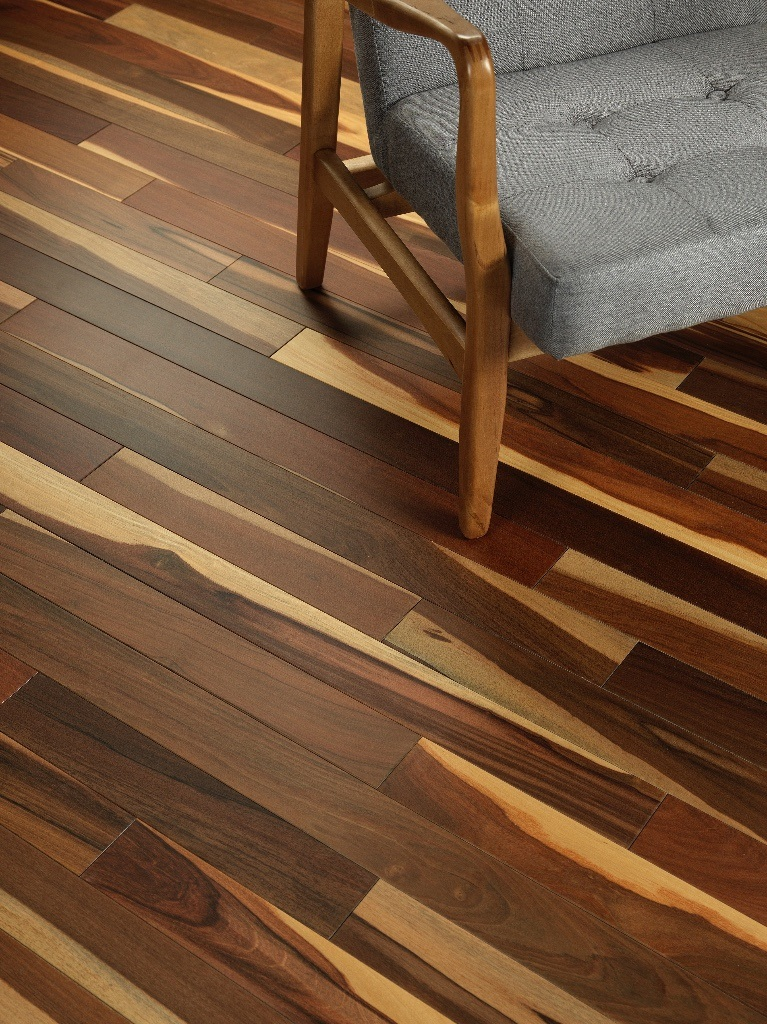 3 1 4 brazilian walnut flooring character grade solid ipe for Hardwood floors unfinished