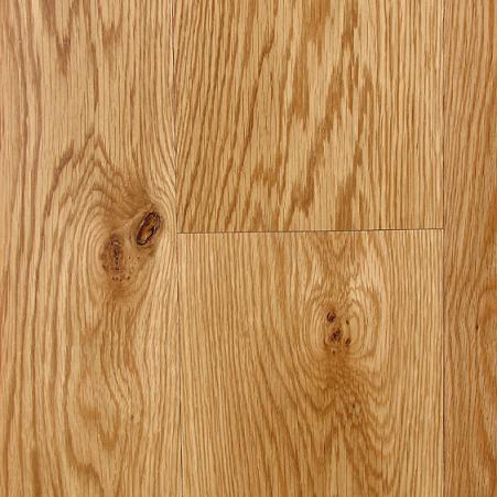 4 Inch Character Red Oak Prefinished