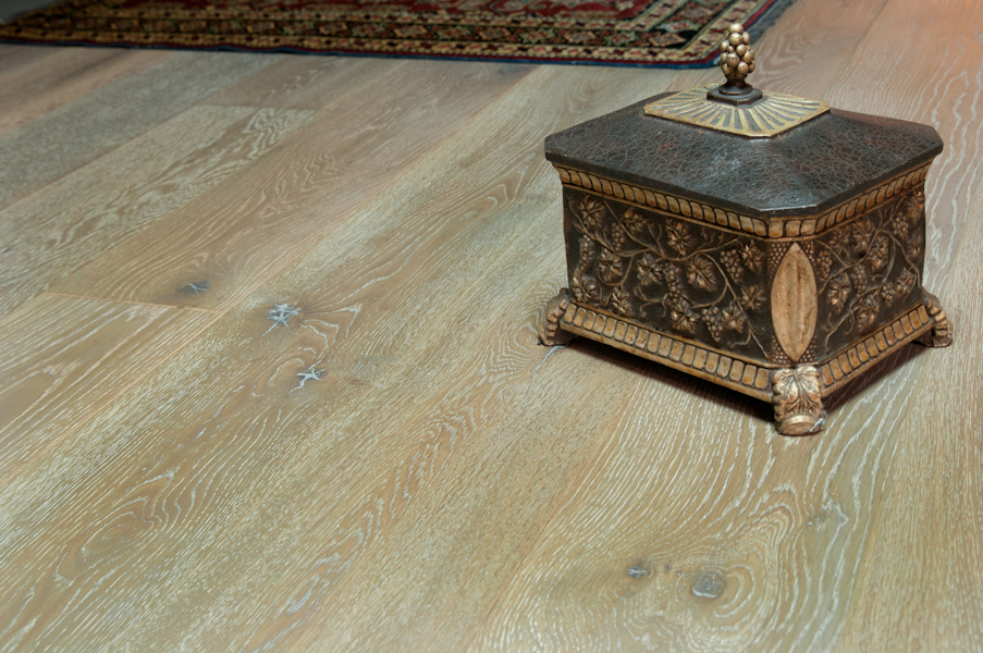 "Bare Roots 7 1/2"" Engineered European White Oak with 4mm Wear Layer - Chateau Nord"