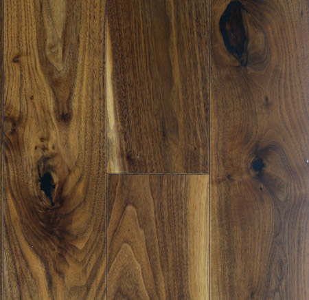 Prefinished Walnut Flooring - Engineered