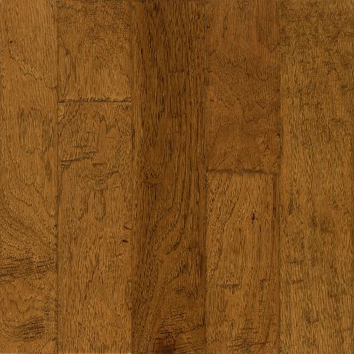 3 8 x 5 golden brown hickory bruce hardwood frontier for Bruce hardwood floors 3 8