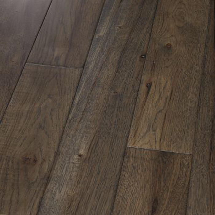 5 hickory graphite smooth engineered hardwood for Traditional flooring