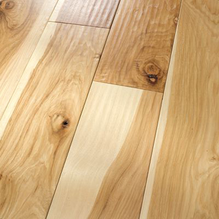6 Hickory Natural Amish Handscraped Flooring Engineered Hardwood