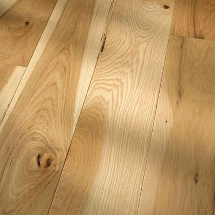 5 Quot Hickory Natural Smooth Solid Hardwood Flooring