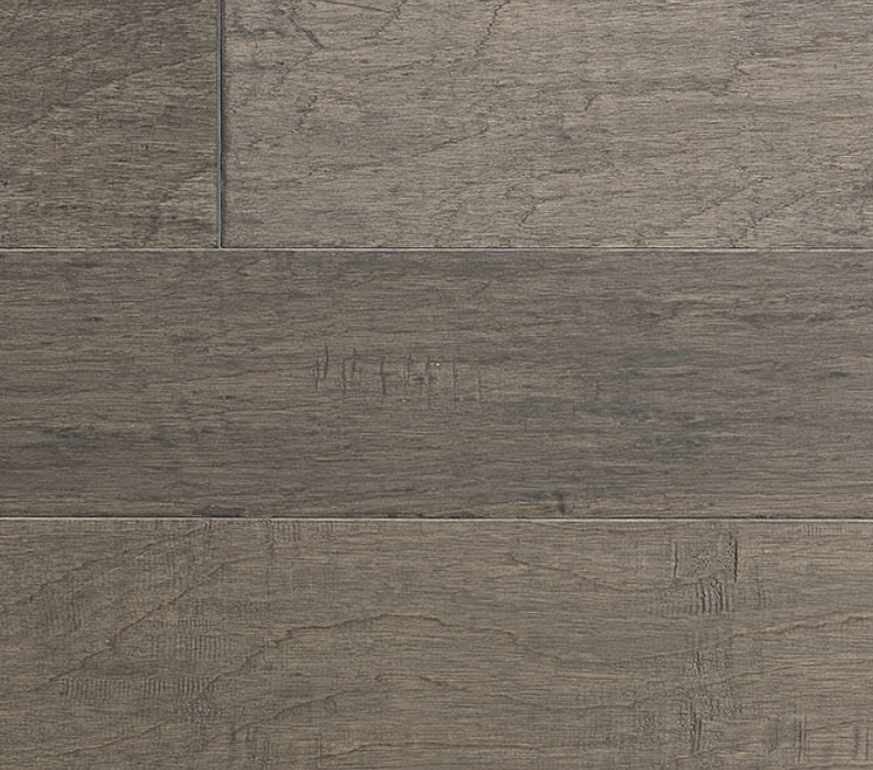 Langania Hickory Brezza IndusParquet Handscraped Engineered Exotic Flooring 1/2 x 7 1/2""