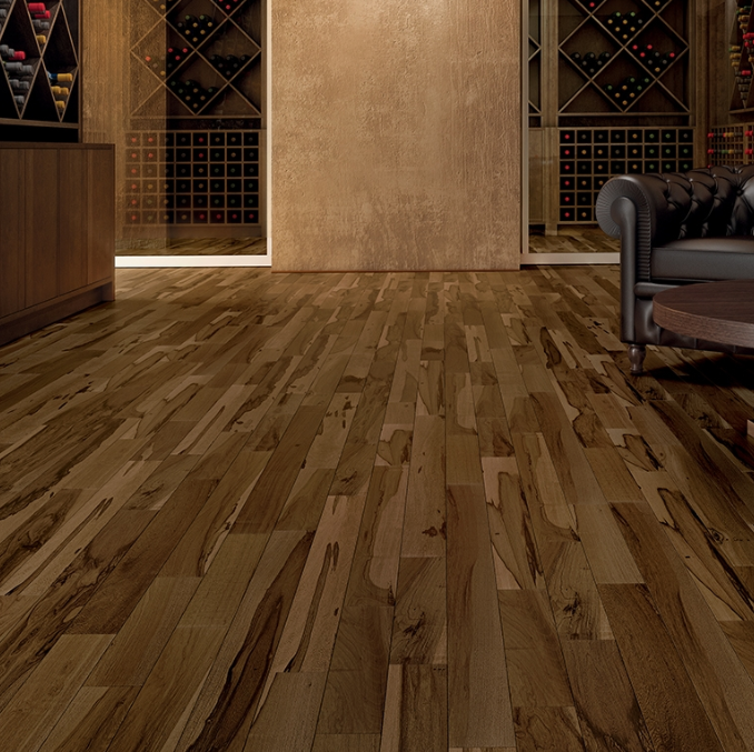 IndusParquet Brazilian Hickory 3 Solid Prefinished Flooring In Stock