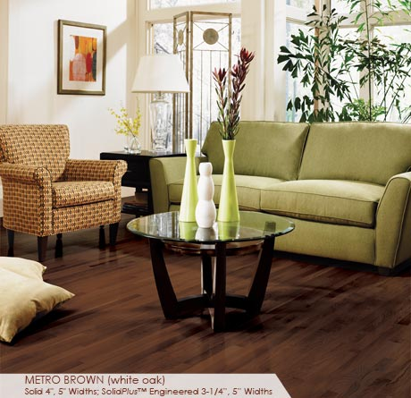 Somerset Color Plank Metro Brown 5
