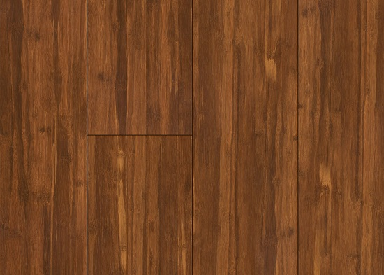 Bamboo hardwood floor vintage java bamboo hardwood for Strand woven bamboo flooring pros and cons