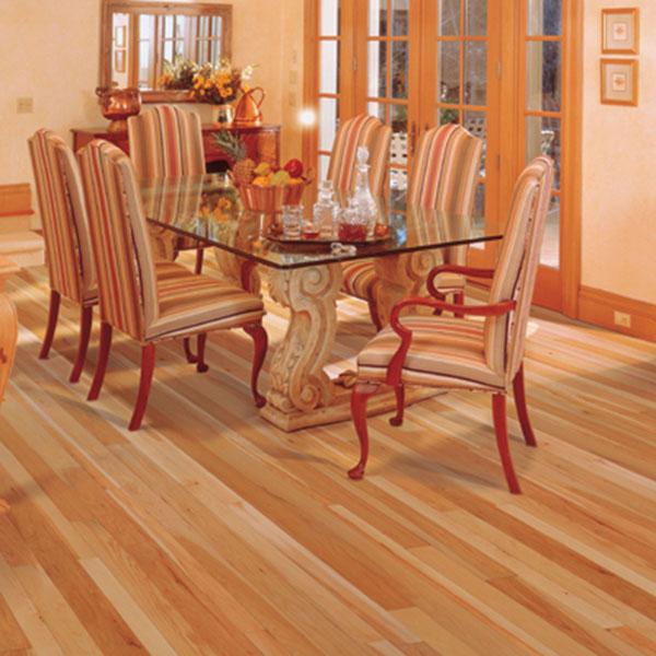 "Shop Mullican Flooring Nature 4 In Natural Maple Hardwood: 5"" Hickory Natural"