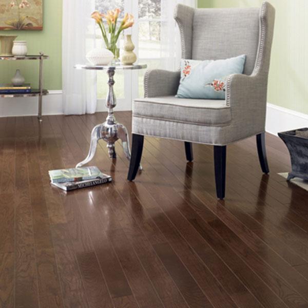 5 Oak Dark Chocolate Muirfield Mullican Flooring