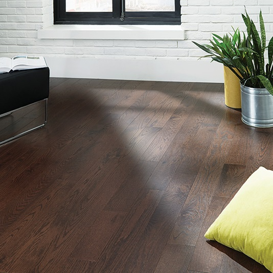 5 Quot Dark Chocolate Red Oak Mullican Dumont Hardwood