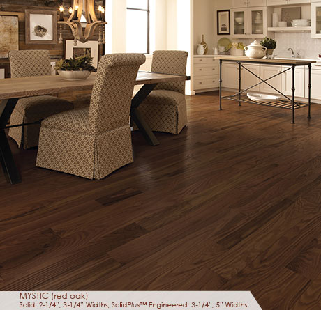 3 1 4 Red Oak Mystic Hardwoods Somerset Classic Engineered