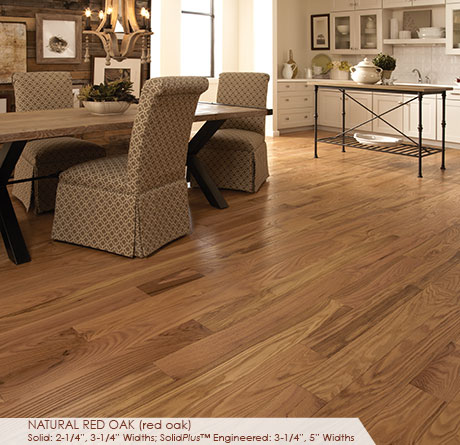 Somerset Classic Collection Engineered Red Oak Natural 3 1/4