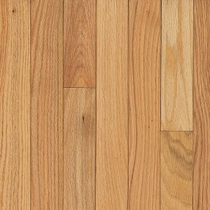 2 1 4 Quot Natural Red Oak Bruce Dundee Strip Solid