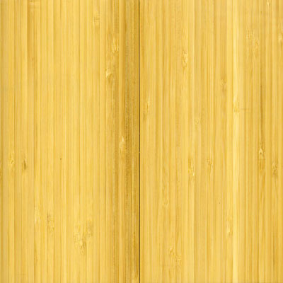 Wellmade Solid Traditional Bamboo Natural Vertical