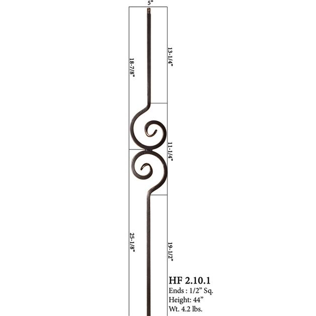 Nautilus Iron Baluster Solid 2.10.1