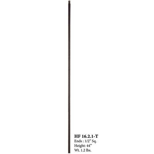 Straight Plain Bar Iron Baluster