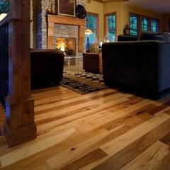 Prefinished Solid Hickory Flooring