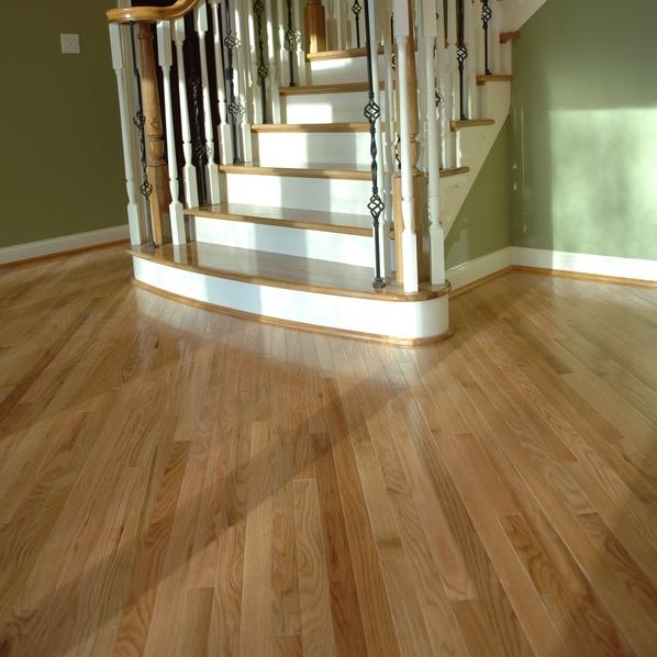 Prefinished Solid Red Oak Flooring