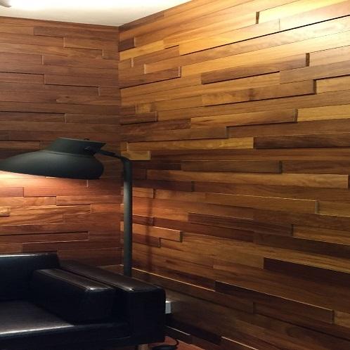 3 1 2 Quot African Teak Wall Panel Ribadao Design Hardwood