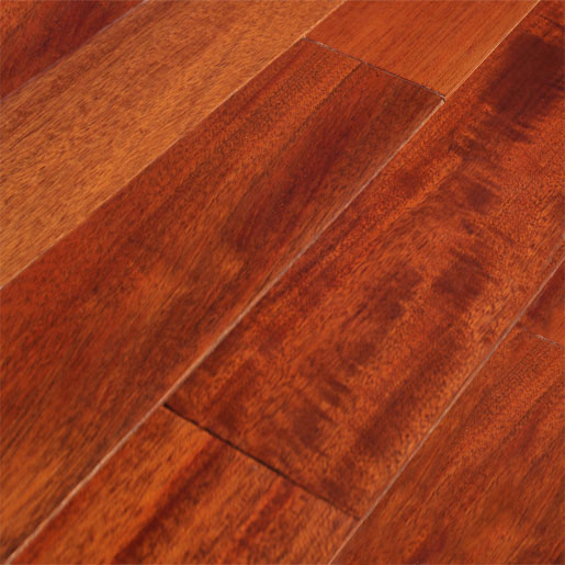 Royal mahogany hardwood andirobe wood flooring for Mahogany flooring
