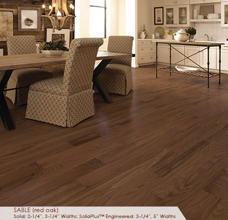 Somerset Classic Collection Engineered Red Oak Sable 3 1/4