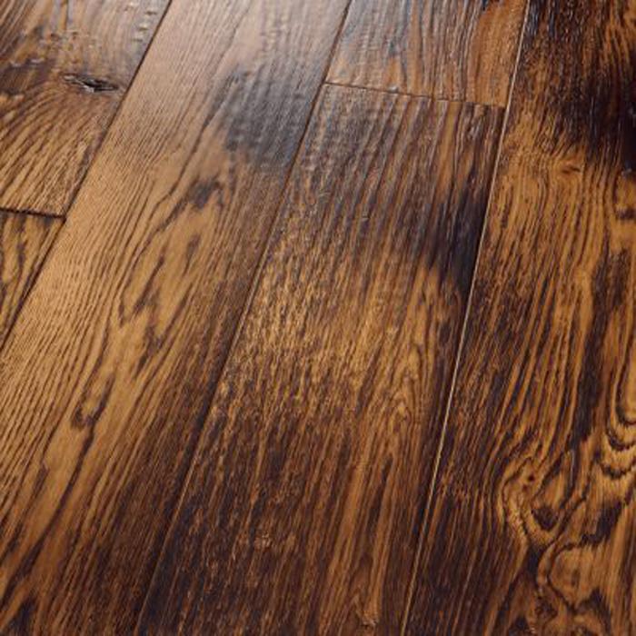3 4 Quot Homerwood Smoked Floors Solid Specialties Amish