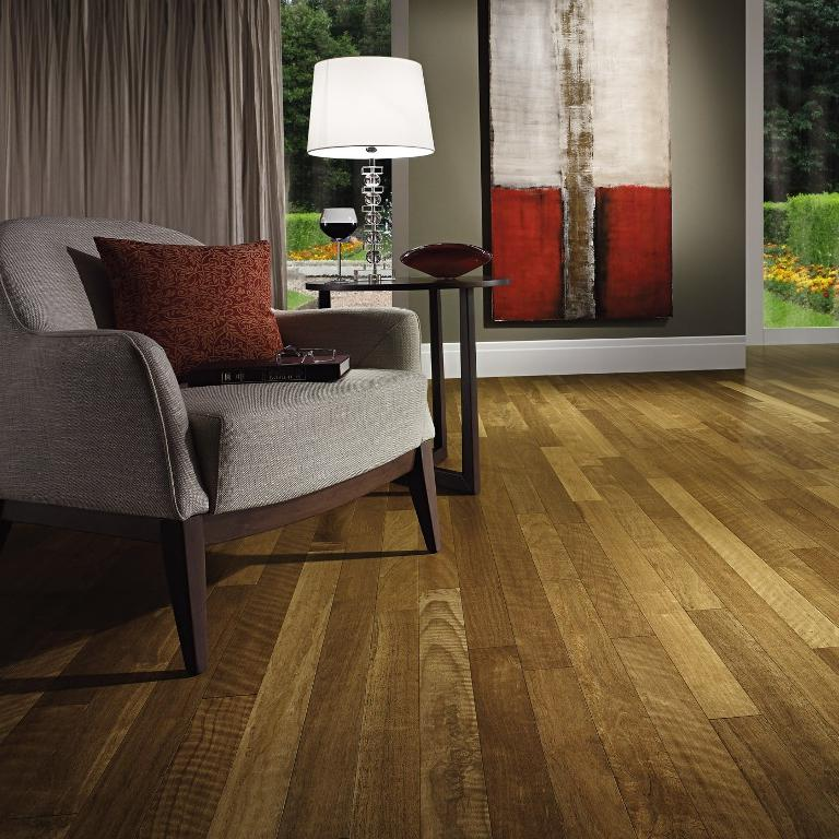 5 14 Brazilian Ash Engineered Hardwood Floors Amendoim Exotics