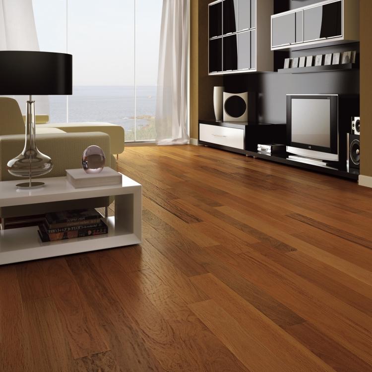 Triangulo Brazilian Walnut Exotic Engineered 3 1 4 Inch Hardwood Flooring