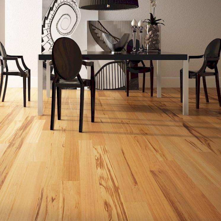 Triangulo Tigerwood 5 1 4 Inch Engineered Hardwood Flooring