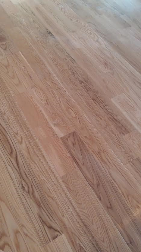 Unfinished engineered White Oak Flooring Select