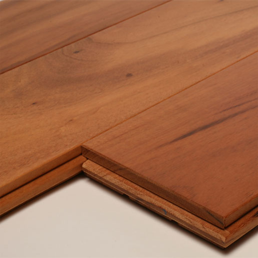 Unfinished Solid Tigerwood Flooring
