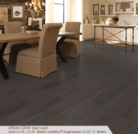 Somerset Classic Collection Engineered Red Oak Urban Gray 3 1/4