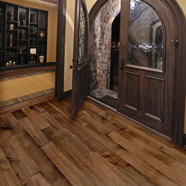 3 1/4 Inch Prefinished Select Rift and Quartered Walnut Flooring