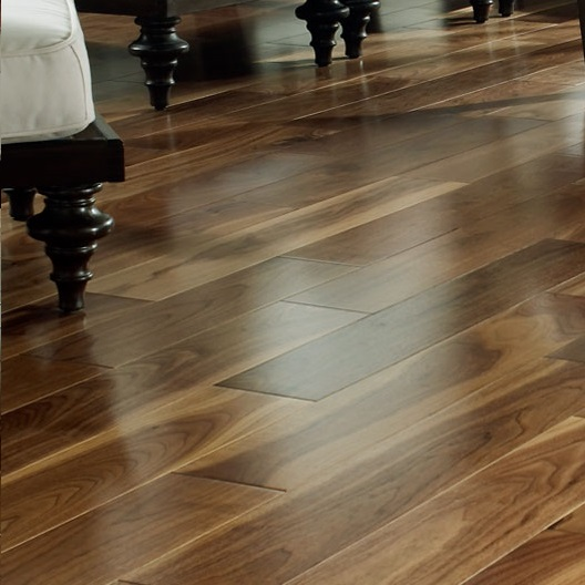 Unfinished Solid Walnut Flooring